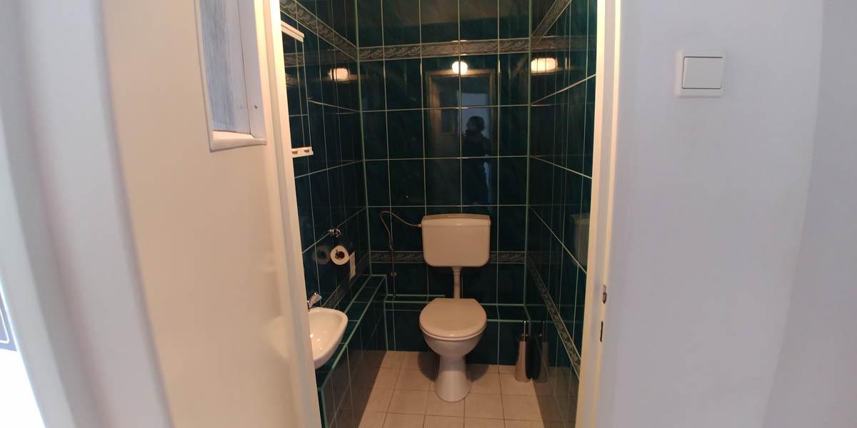 Wydzielony WC